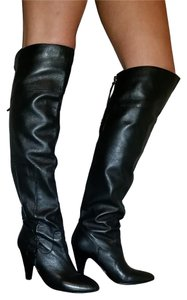 Guess Leather Buckle Soft black Boots