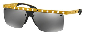 Prada Prada PR50RS-GKD7W1 Men's Yellow Frame 62mm Sunglasses New In Box