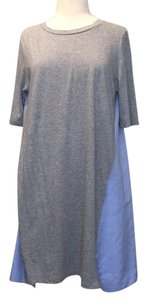 Stella McCartney short dress Grey and denim on Tradesy