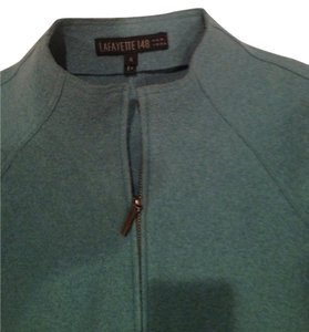 Lafayette 148 New York Warm Classic Wool Pale Blue Jacket