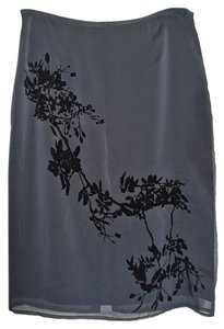 Express Skirt Charcoal and black
