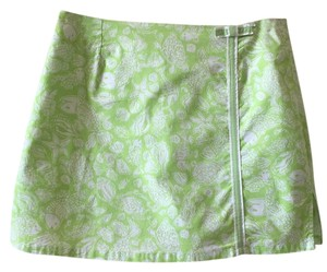 Lilly Pulitzer Mini Skirt Green