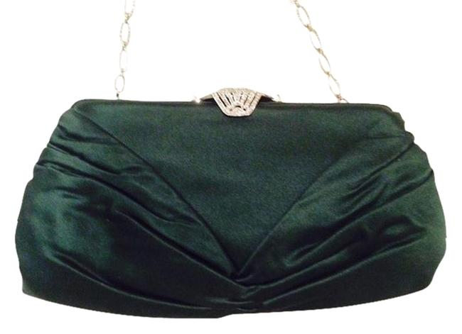 Item - Green Satin. Clutch