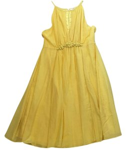 Esley short dress Yellow on Tradesy