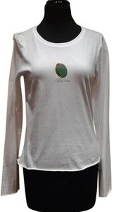 And Cake Embellished Witty Love T Shirt White/Olive/Red Crystals