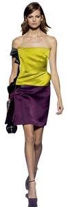 Lanvin Skirt Burgundy Red