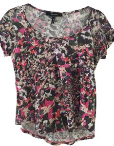 Isabel Marant Designer T Shirt Pink, Red, Black