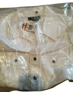 Style & Co Button Down Shirt white