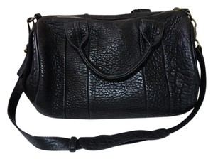 Alexander Wang Leather Rocco Satchel in black
