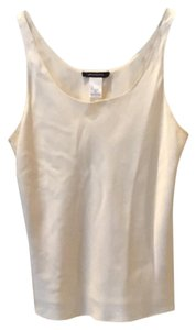 Natori Silk Top beige