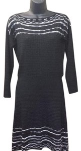 M Missoni short dress black and white Knit Classic Vintage on Tradesy