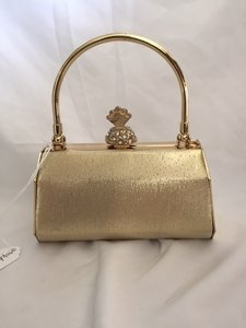 Gold Clutch Bridal Handbag
