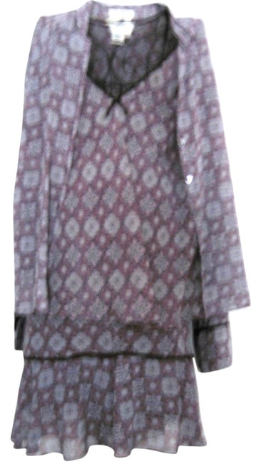 Preload https://item1.tradesy.com/images/ib-diffusion-grey-pink-silk-women-3-piece-top-cami-long-sleeve-jacket-flowers-xl-skirt-suit-size-16--1753740-0-0.jpg?width=400&height=650