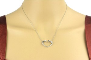 Tiffany & Co. Tiffany & Co Paloma Picasso Tenderness Heart Silver Pendant Necklace