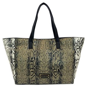 Marc by Marc Jacobs Leather Hobo Here's The T Tote in Brindle multicolored Snake print