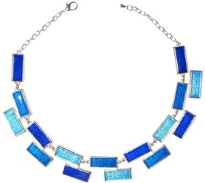 Other The Whitney Enamel Statement Collared Necklace