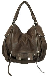 Kooba Jonnie Leather Front Flap Shoulder Bag