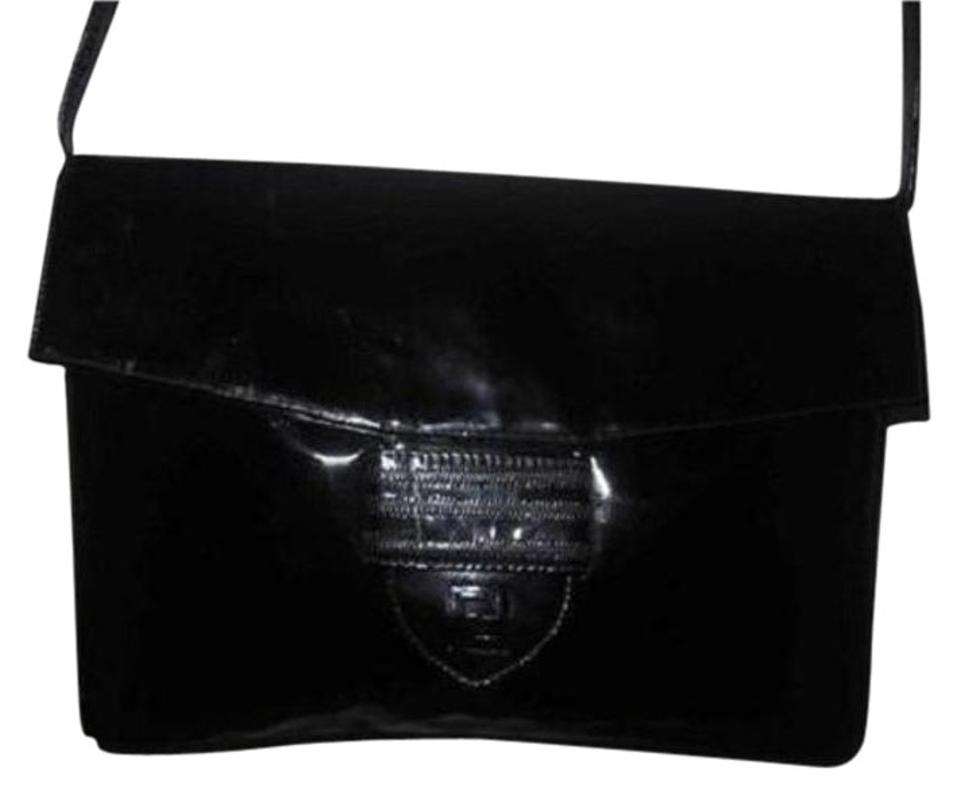 fe103354477c Fendi Two-way Style Clutch Removable Strap Dressy Or Casual Shoulder Bag ...