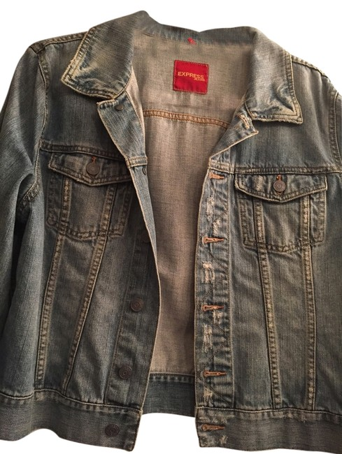 Preload https://img-static.tradesy.com/item/1753907/express-denim-distressed-jacket-size-12-l-0-0-650-650.jpg