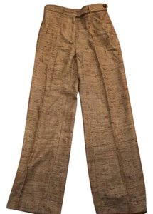Max Mara Straight Pants Brown