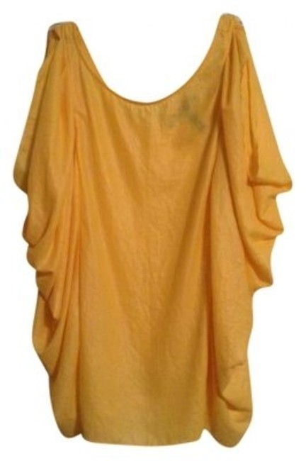 Preload https://item1.tradesy.com/images/bcbgmaxazria-canary-yellow-night-out-top-size-2-xs-175395-0-0.jpg?width=400&height=650