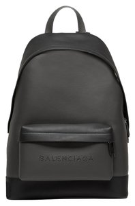 Balenciaga Leather Perforated Backpack
