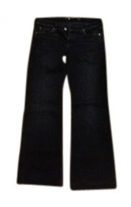 7 For All Mankind Flare Leg Jeans-Black