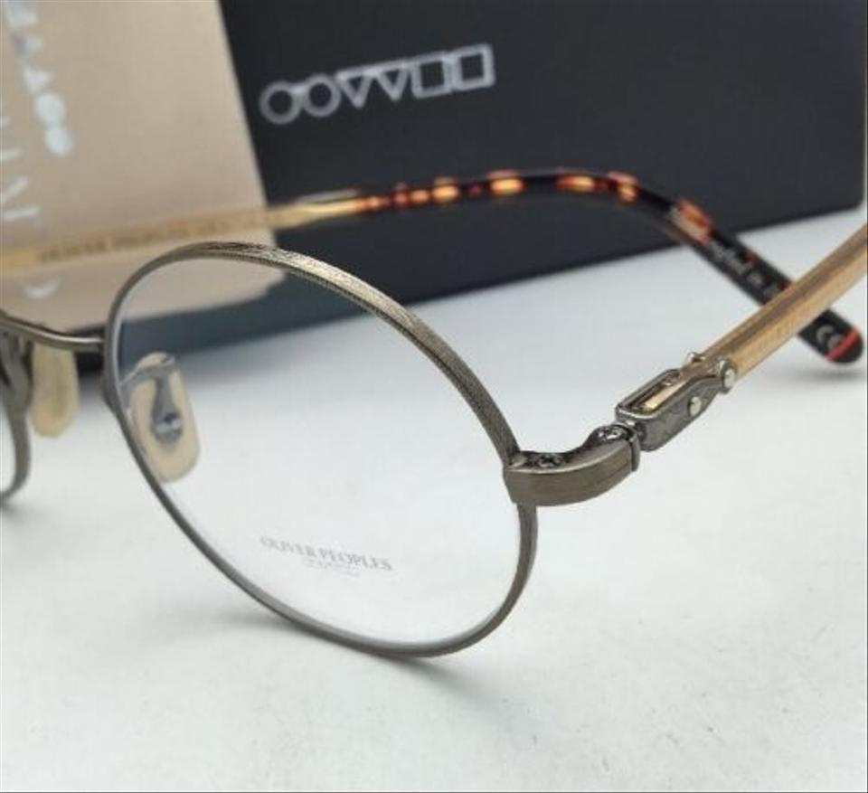 ee0375fa82b Oliver Peoples New OLIVER PEOPLES Eyeglasses OVERSTREET OV 1190 5039 46-22  Antique Gold Frames. 1234567891011