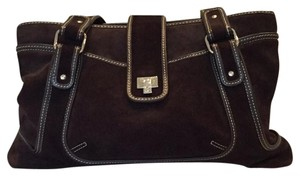 Lambertson Truex Leather Tote in Brown