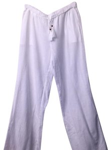 J.Crew Wide Leg Pants White