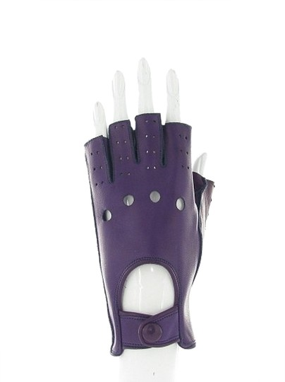 Preload https://item1.tradesy.com/images/dark-purple-linda-perforated-fingerless-leather-gloves-1754270-0-0.jpg?width=440&height=440