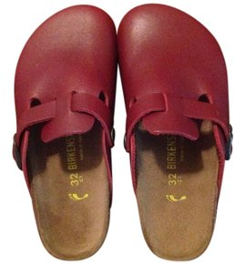 Birkenstock kids Burgundy Sandals