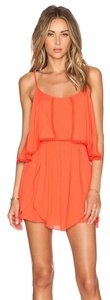 Lovers + Friends short dress coral/orange Coral/Orange Beach on Tradesy