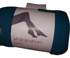 Xhilaration Teal colored dress tights