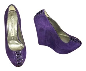 Gianmarco Lorenzi Purple Wedges