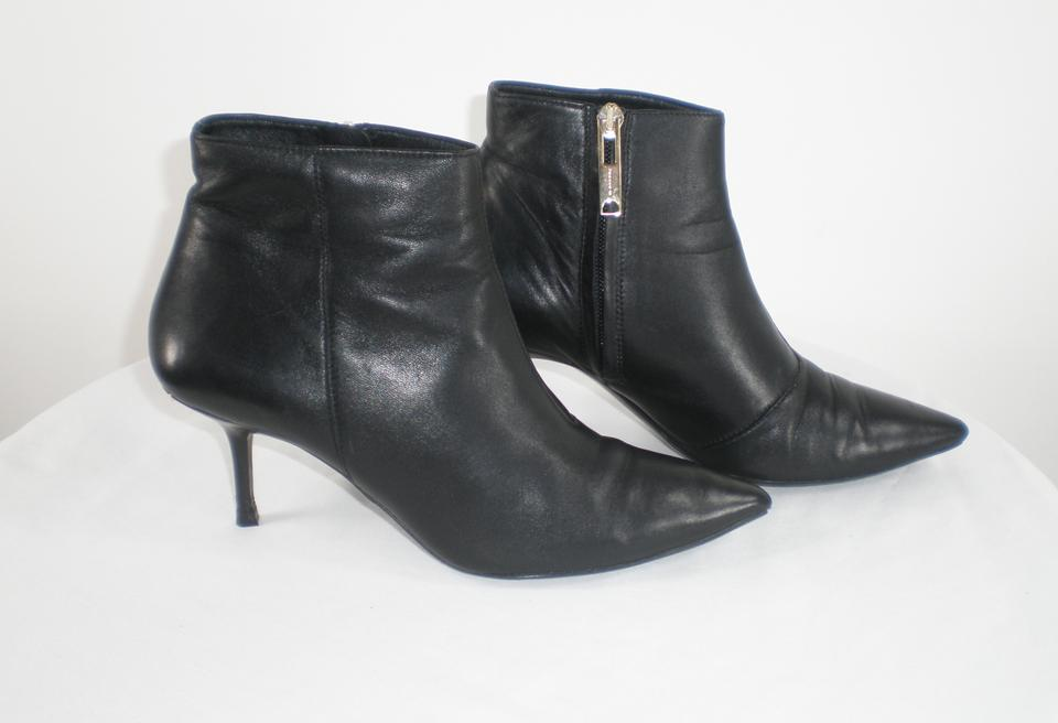 Black Burberry Manor Booties Boots Ankle d1qrngxq
