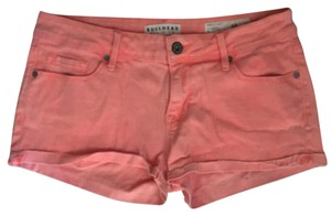 Bullhead Denim Co. Mini/Short Shorts Neon orange