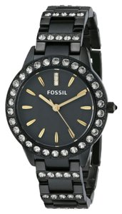 fossil Fossil Womens Jesse Three Hand Stainless Steel Watch