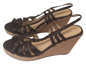 Ann Taylor Dark brown Wedges