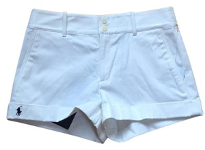 Ralph Lauren Cuffed Shorts White