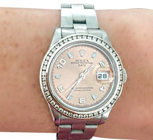 Rolex Diamond Ladies Rolex Oyster Perpetual
