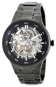 Kenneth Cole Kenneth Cole Automatic Black IP Analog Stainless Steel Band Mens Watch KC9343