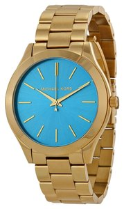 Michael Kors Michael Kors Runway Gold Tone Stainless Steel Ladies Watch MK3265