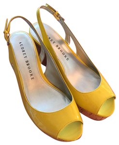 Audrey Brooke Yellow Wedges