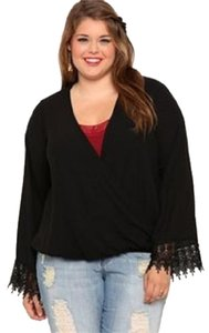 DEB Crochet Bell Sleeves Gothic Tunic