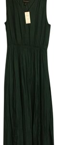 Hunter Green Maxi Dress by Banana Republic
