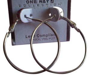 One Way One Way Hoop Earrings