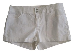 London Jean Shorts WHITE