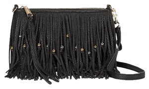 Rebecca Minkoff Leather Gold Finn New With Cross Body Bag