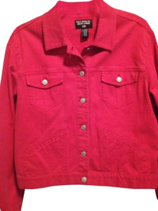 Polo Ralph Lauren Denim Red Womens Jean Jacket